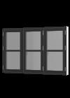 Rationel AURAPLUS BASIC Sidehængt m. 3 fag og vandret sprosse