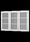 Rationel FORMAPLUS BASIC Sidehængt m. 3 fag og 2 vandrette sprosser