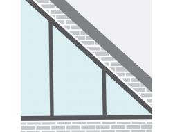 Trekantede og skråvinklede vinduer